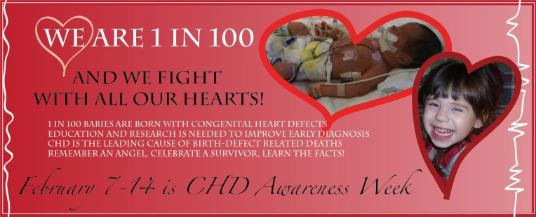 February 7-14 is CHD Awareness Week