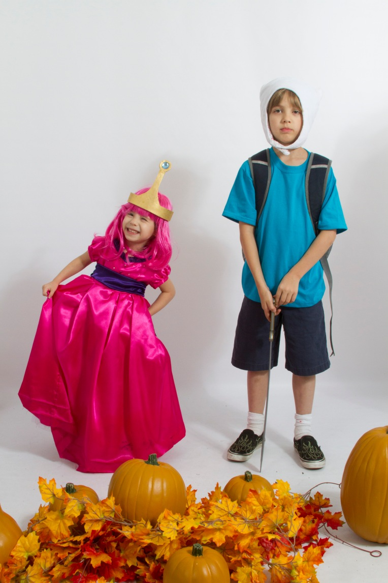 Princess Bubblegum and Finn, Halloween 2013