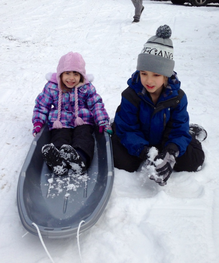 Sledding in Leavenworth, WA. 12/21/13